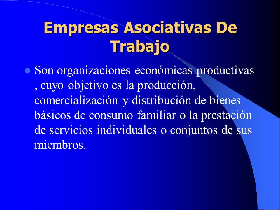 Empresas Asociativas De Trabajo