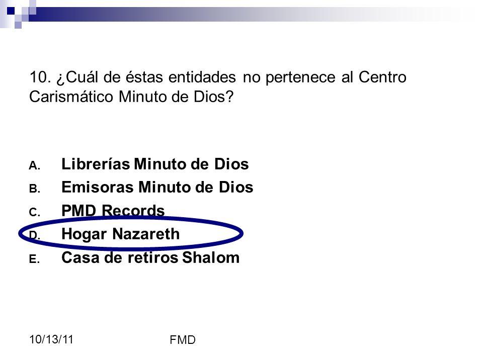 Librerías Minuto de Dios Emisoras Minuto de Dios PMD Records