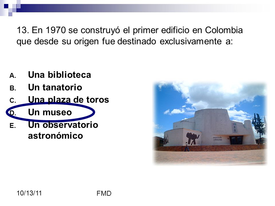 Un observatorio astronómico