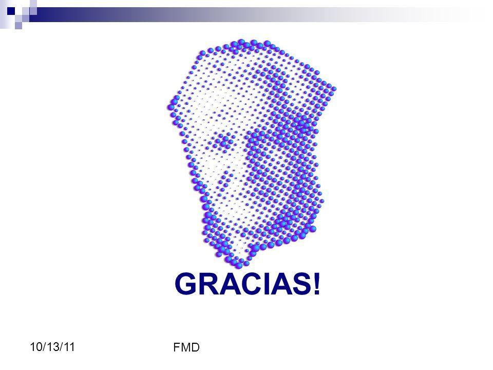 4343 GRACIAS! 10/13/11 FMD