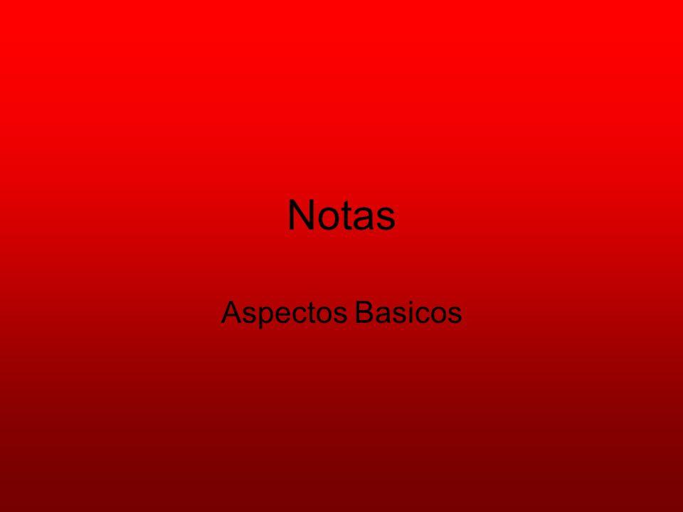Notas Aspectos Basicos