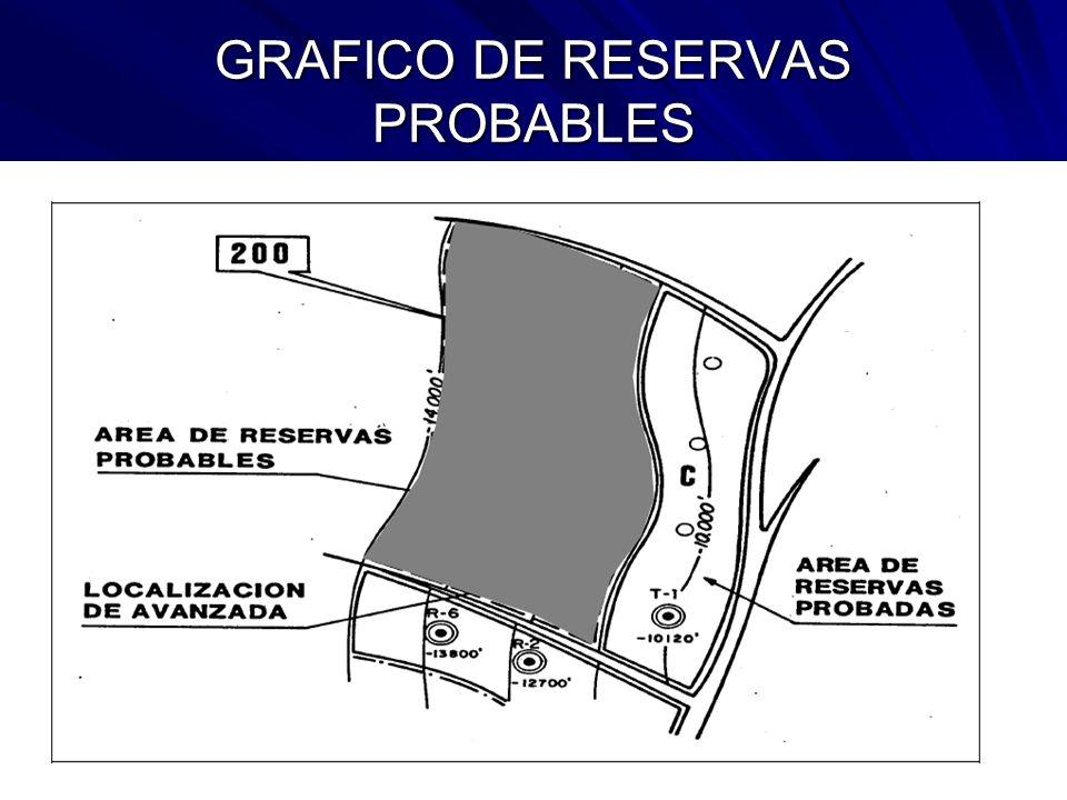 GRAFICO DE RESERVAS PROBABLES