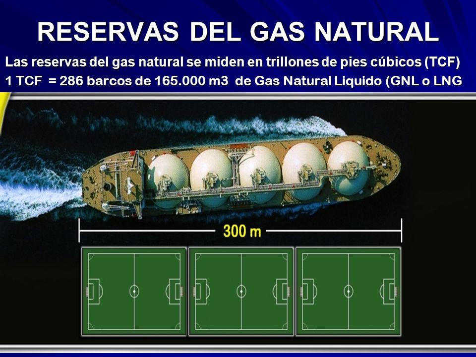 RESERVAS DEL GAS NATURAL