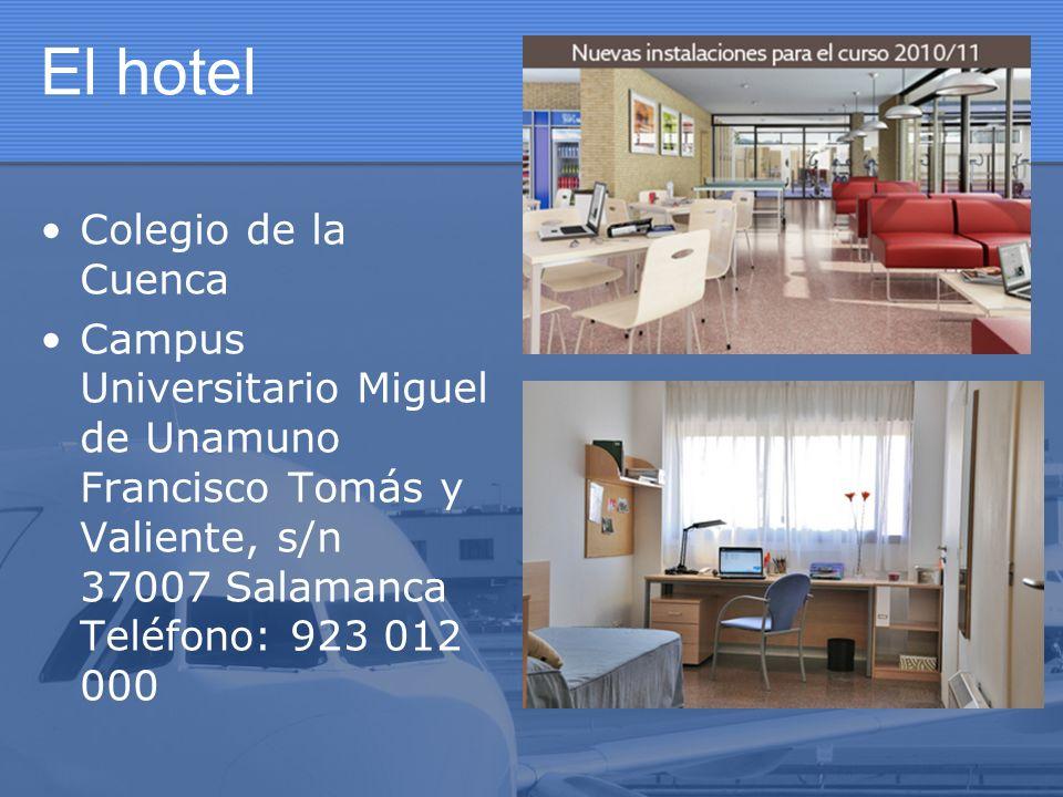El hotel Colegio de la Cuenca