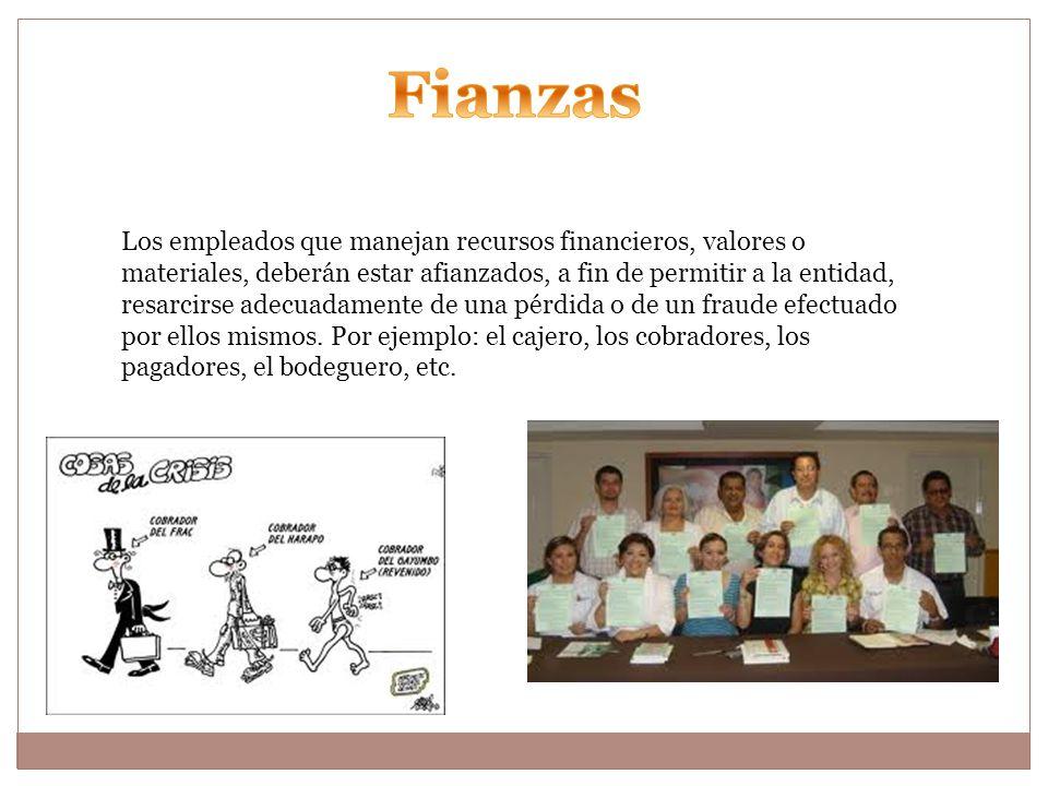 Fianzas