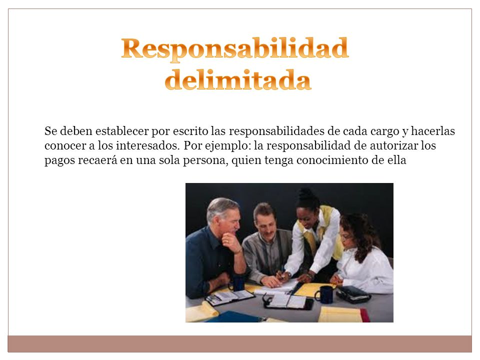 Responsabilidad delimitada
