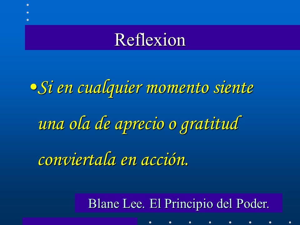 Blane Lee. El Principio del Poder.