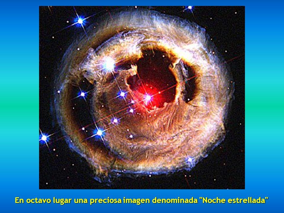 En octavo lugar una preciosa imagen denominada Noche estrellada