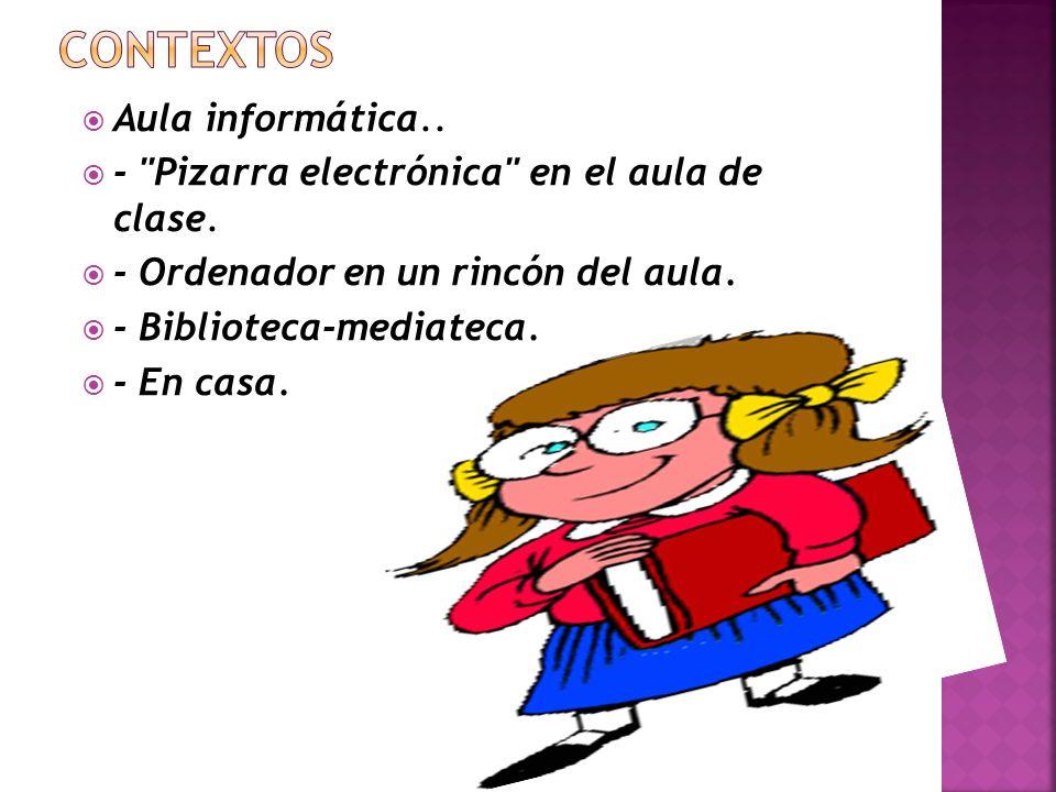 CONTEXTOS Aula informática..