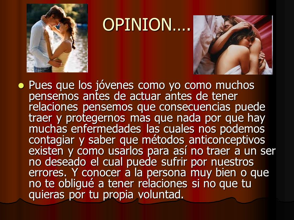 OPINION….