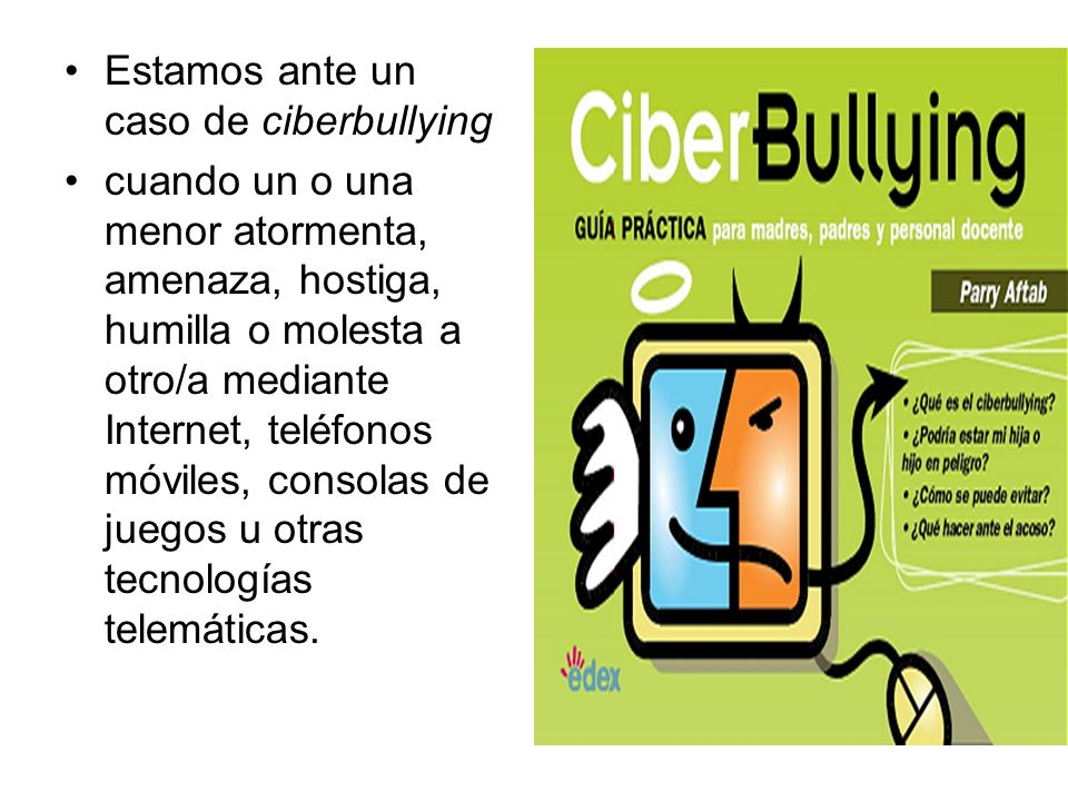 Estamos ante un caso de ciberbullying