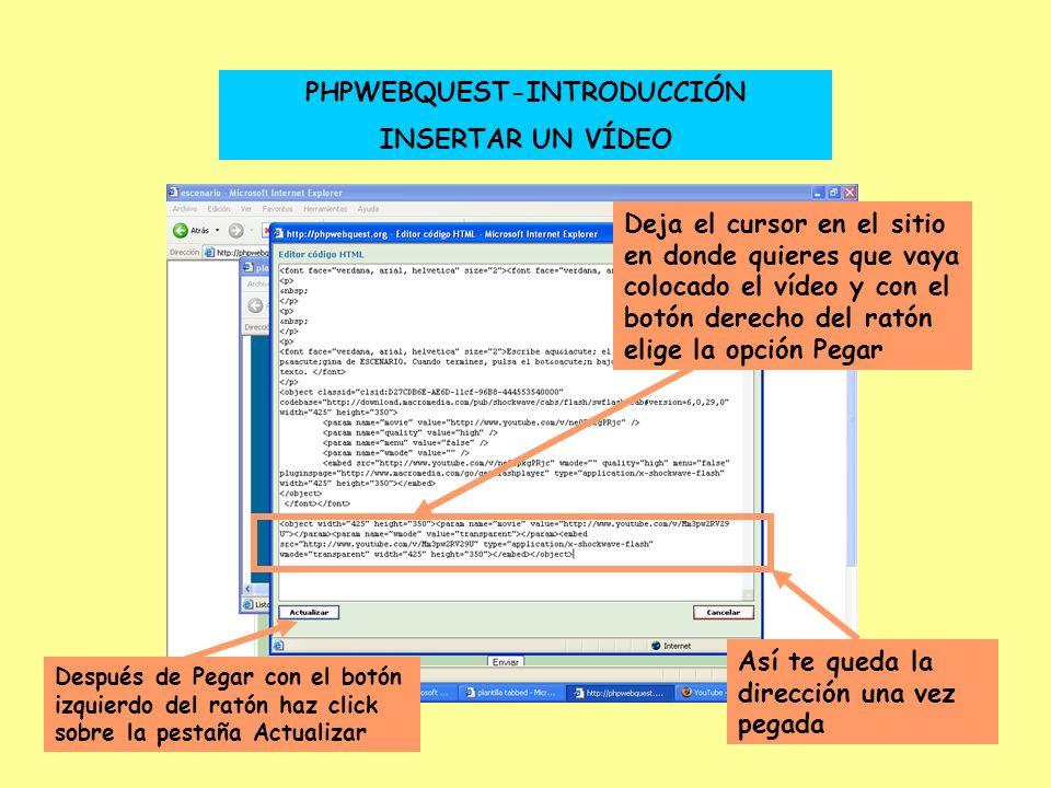 PHPWEBQUEST-INTRODUCCIÓN