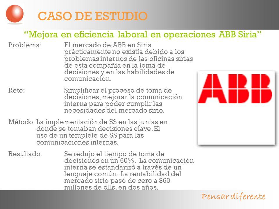 CASO DE ESTUDIO Mejora en eficiencia laboral en operaciones ABB Siria
