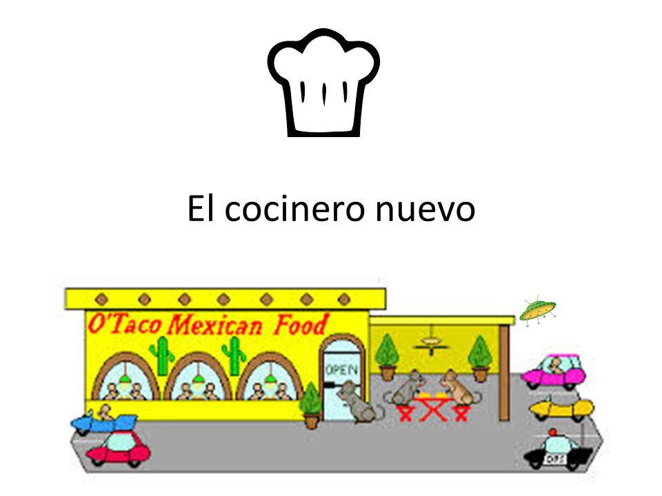 El cocinero nuevo