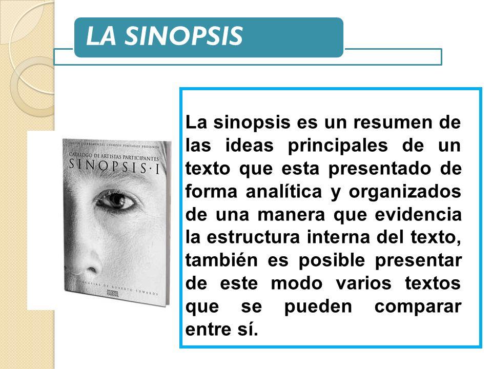 LA SINOPSIS