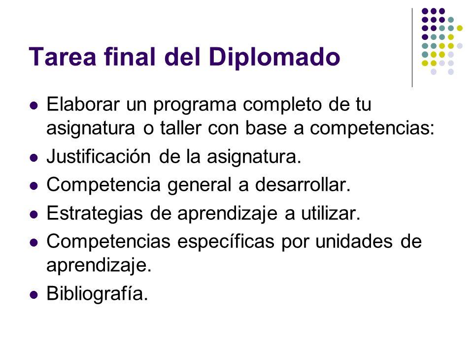 Tarea final del Diplomado
