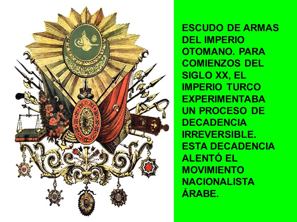 ESCUDO DE ARMAS DEL IMPERIO OTOMANO