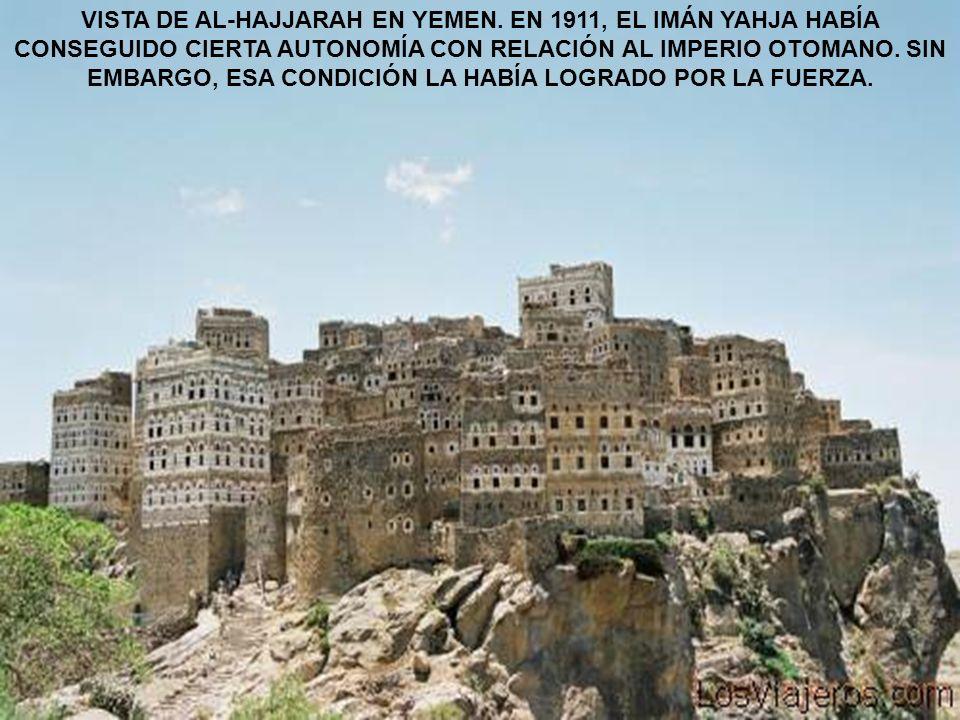 VISTA DE AL-HAJJARAH EN YEMEN