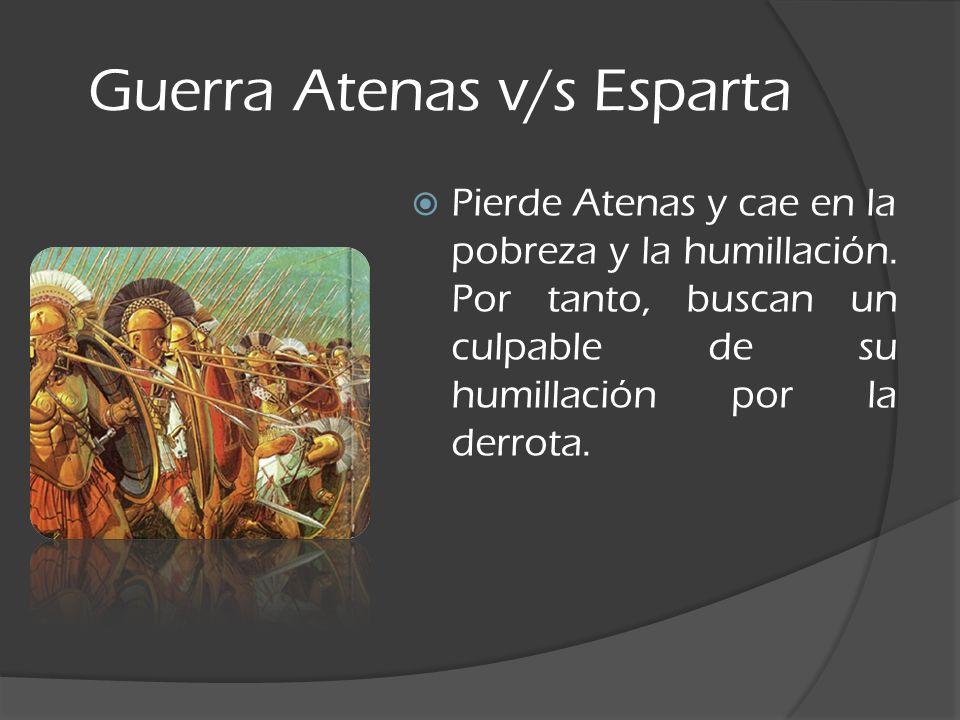 Guerra Atenas v/s Esparta