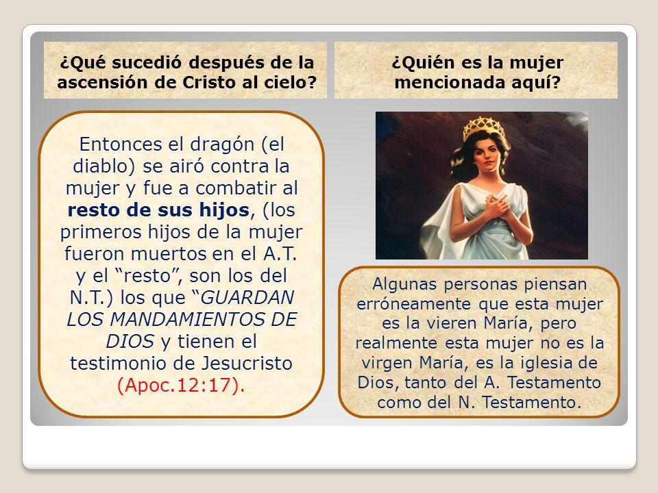 ¿Qué sucedió después de la ascensión de Cristo al cielo