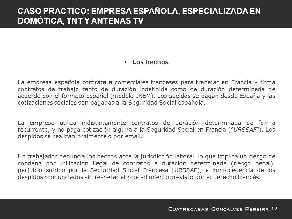 Trabajar en francia participaci n en obras de construcci n desplazamiento del personal - Esquema caso practico trabajo social ...
