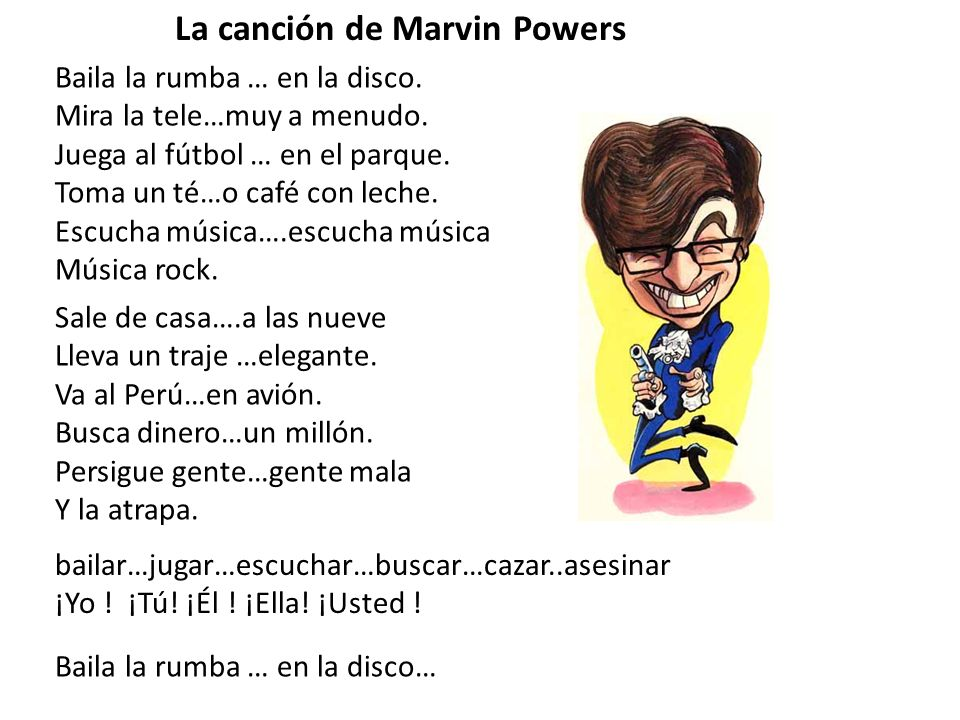 La canción de Marvin Powers