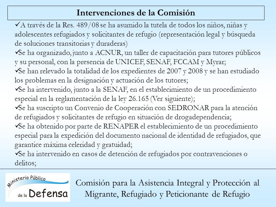 Intervenciones de la Comisión