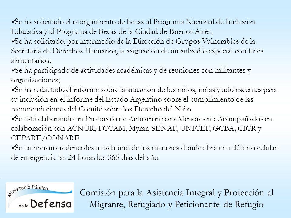 Comisión para la Asistencia Integral y Protección al