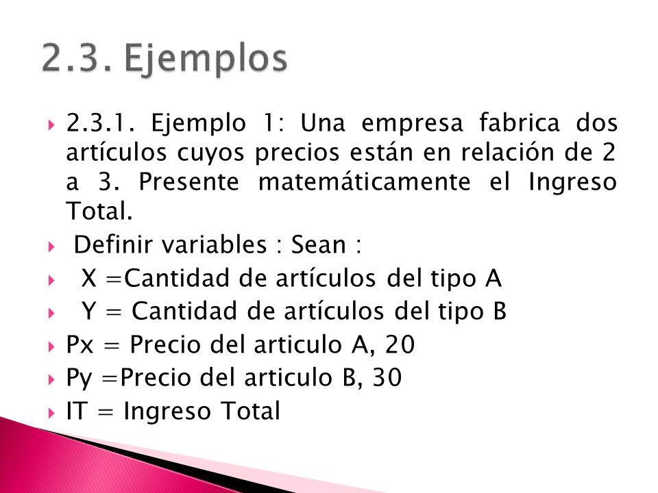 2.3. Ejemplos