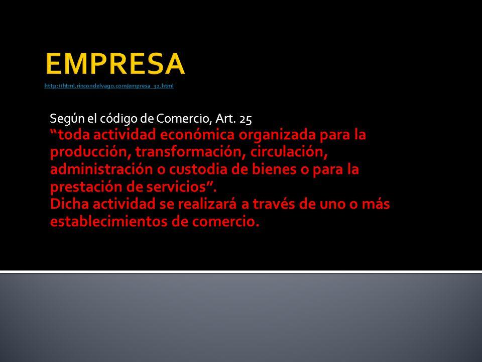 EMPRESA http://html.rincondelvago.com/empresa_32.html