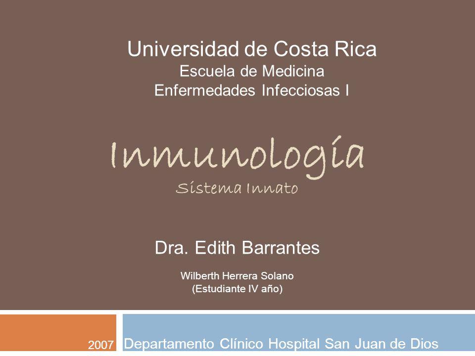 Inmunología Sistema Innato