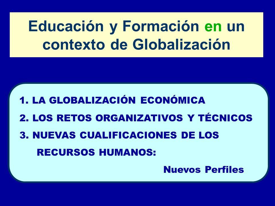 Educación y Formación en un contexto de Globalización