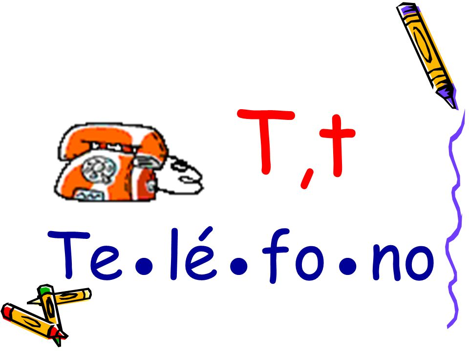 T,t Te●lé●fo●no