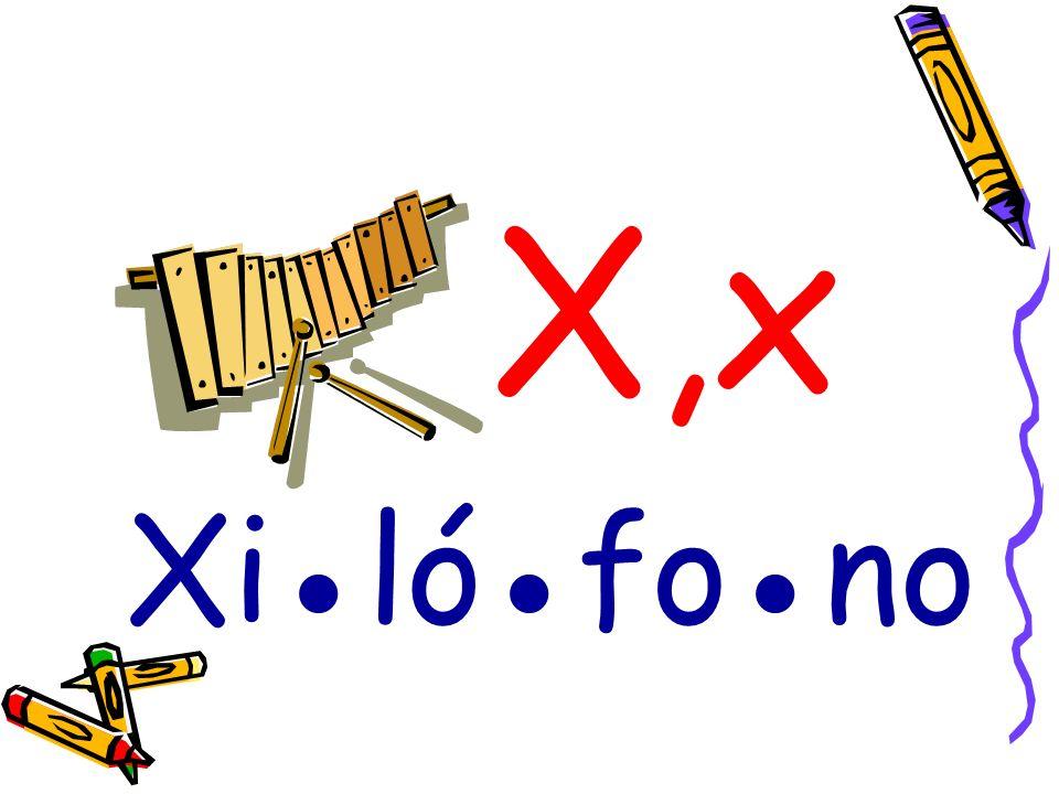 X,x Xi●ló●fo●no