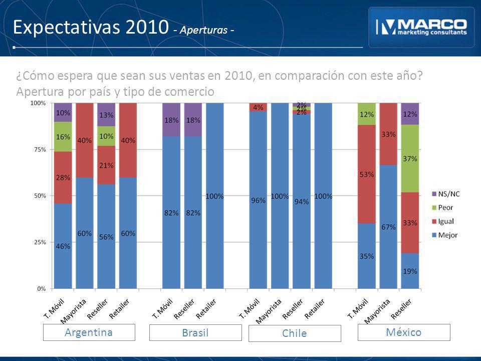 Expectativas 2010 - Aperturas -
