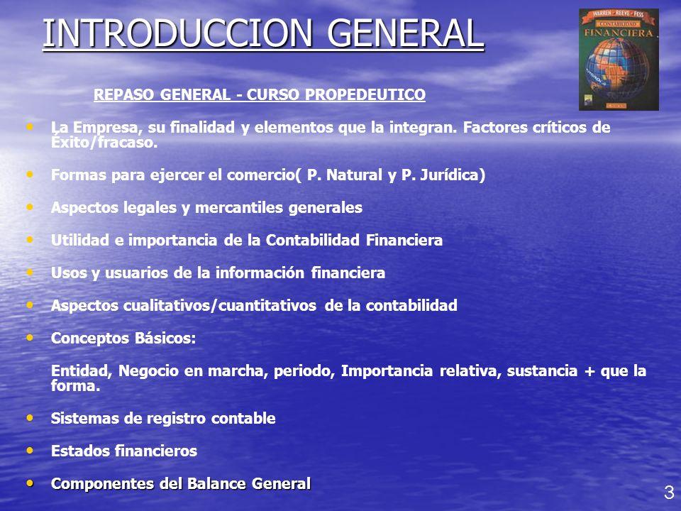 INTRODUCCION GENERAL 3 REPASO GENERAL - CURSO PROPEDEUTICO