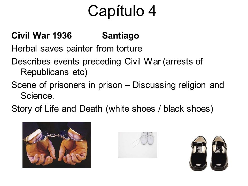 Capítulo 4 Civil War 1936 Santiago Herbal saves painter from torture