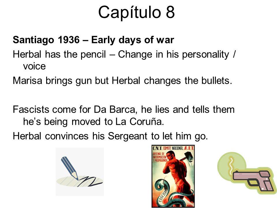 Capítulo 8 Santiago 1936 – Early days of war