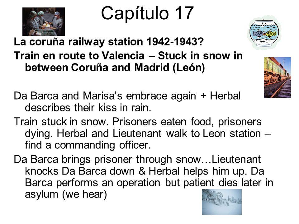 Capítulo 17 La coruña railway station 1942-1943