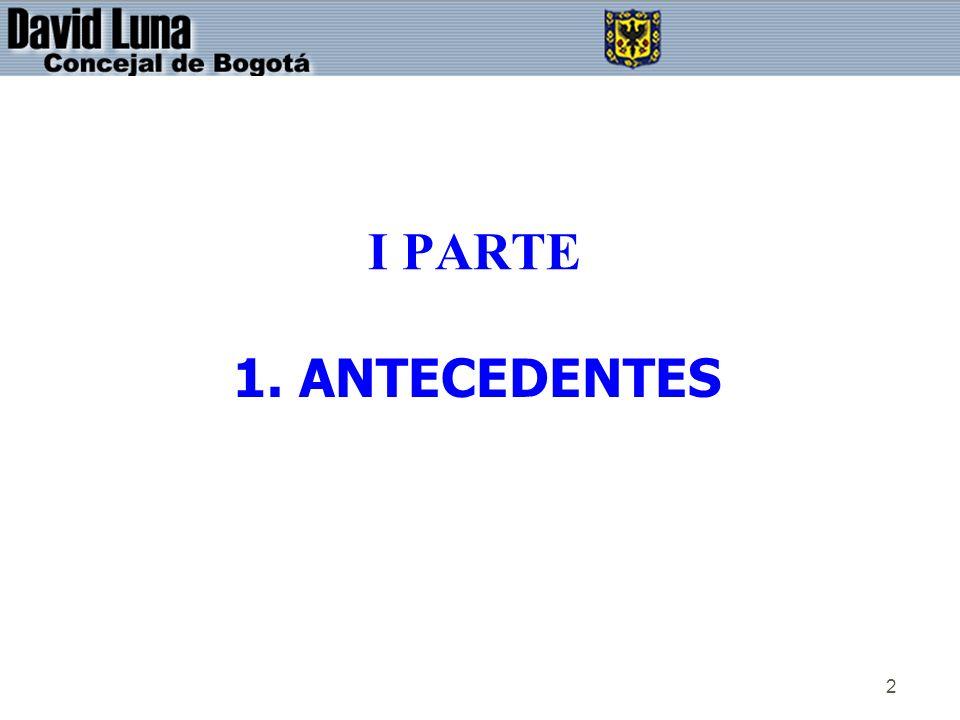 I PARTE 1. ANTECEDENTES