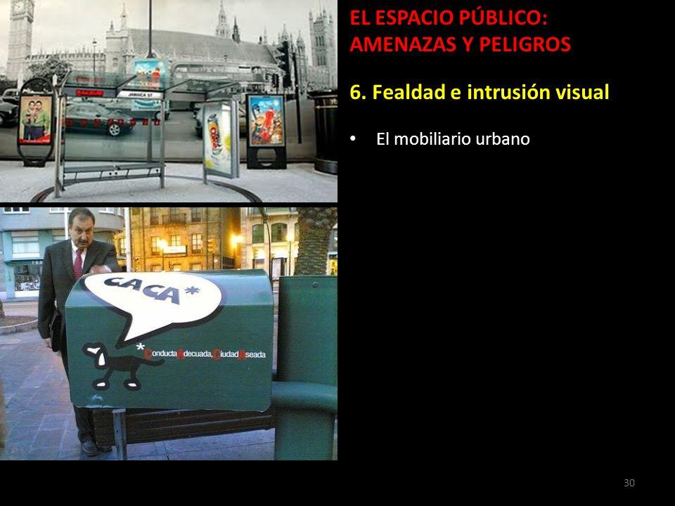 Para la calidad de vida urbana movilidad urbanismo y for Mobiliario espacio publico