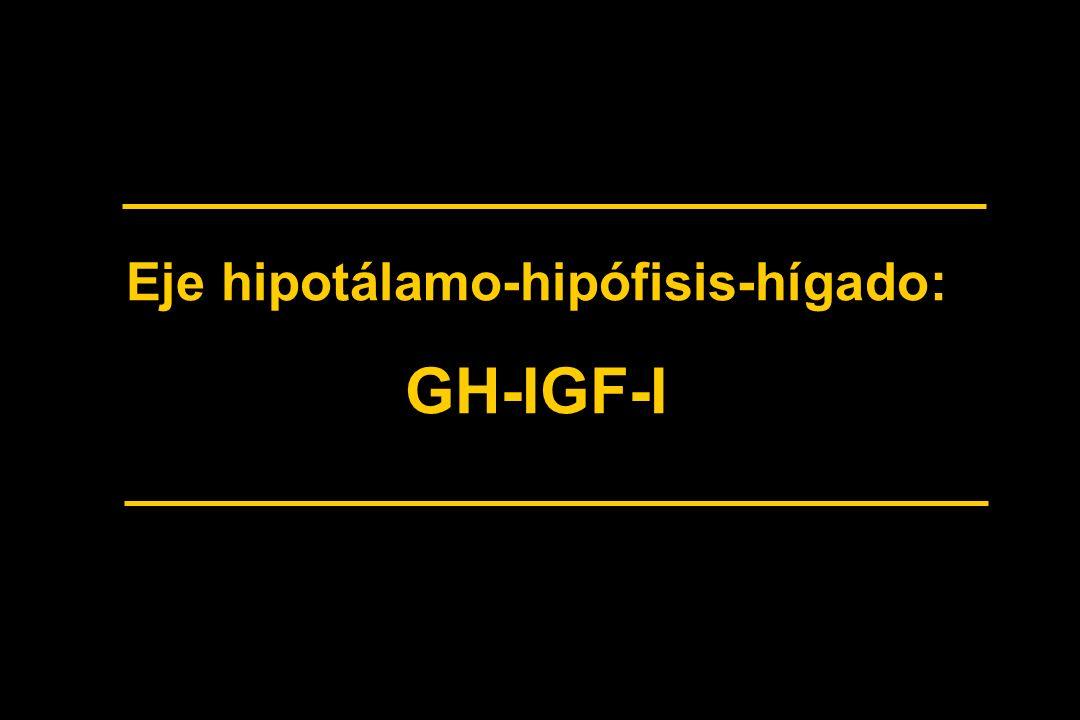 Eje hipotálamo-hipófisis-hígado: