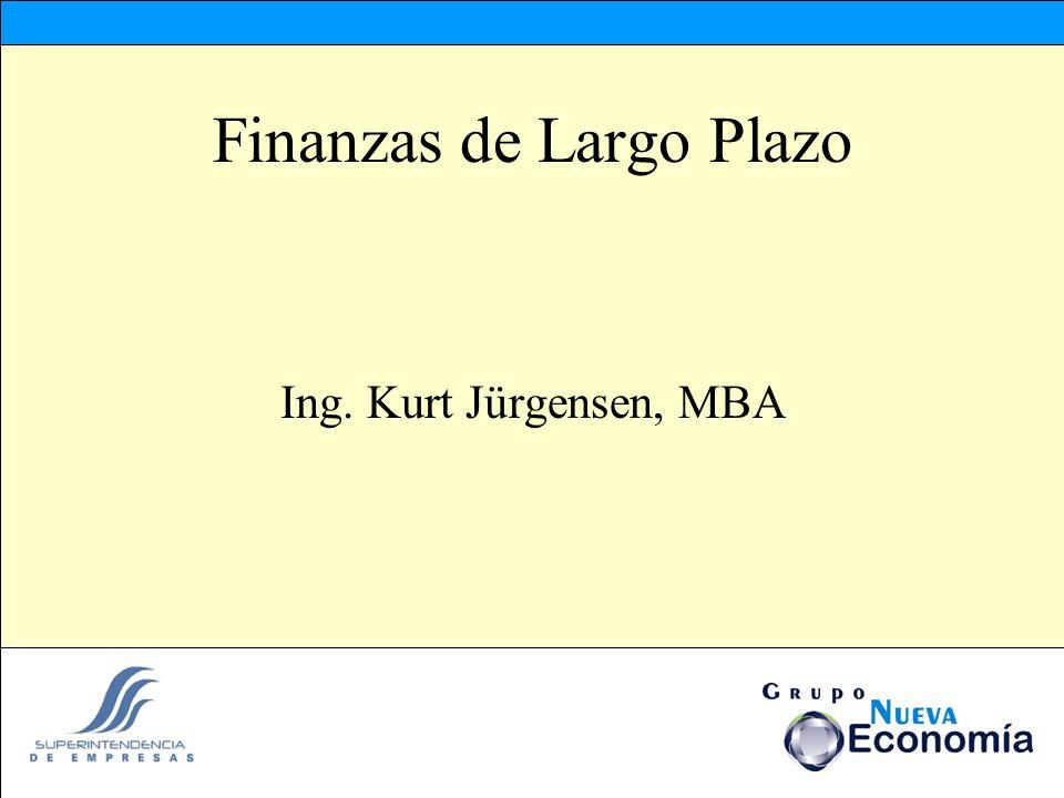 Finanzas de Largo Plazo