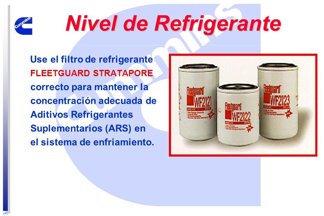 Nivel de Refrigerante