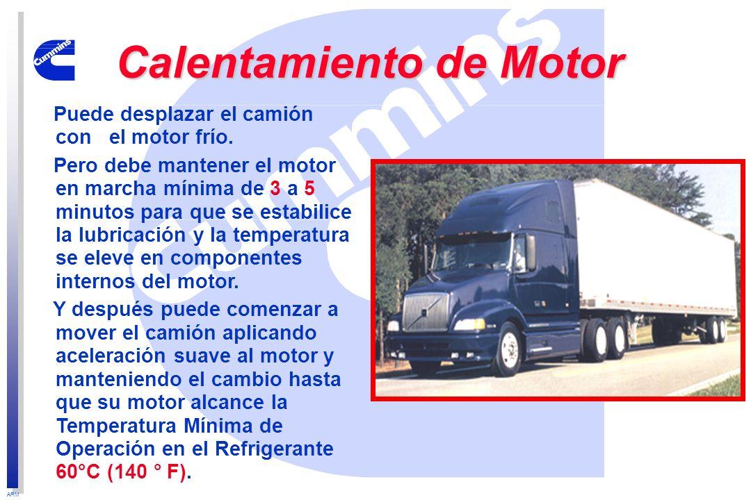 Calentamiento de Motor