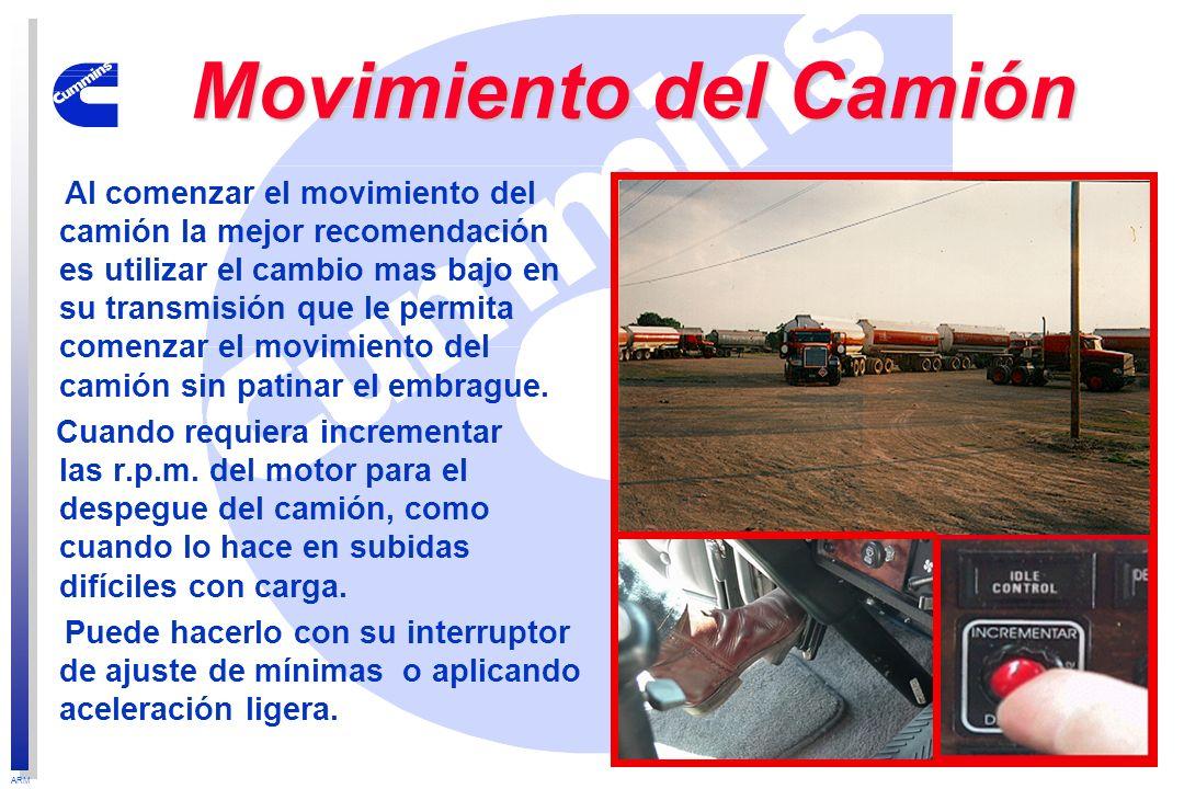 Movimiento del Camión