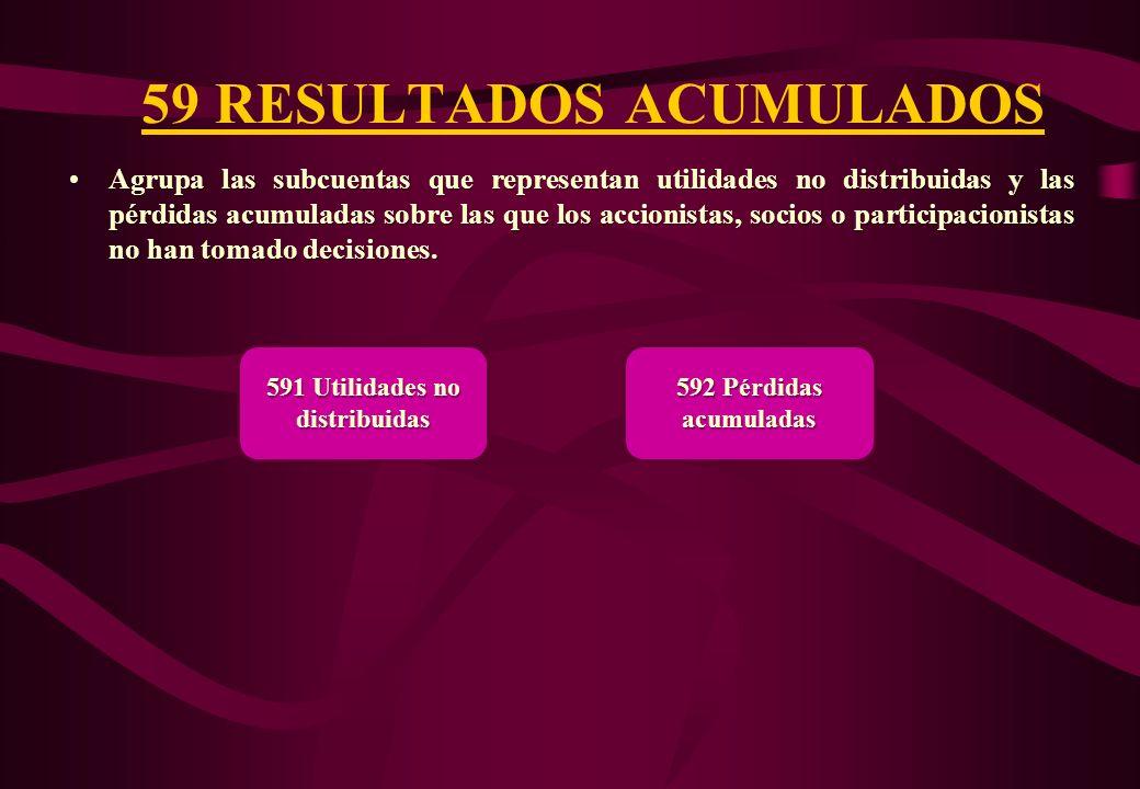 59 RESULTADOS ACUMULADOS