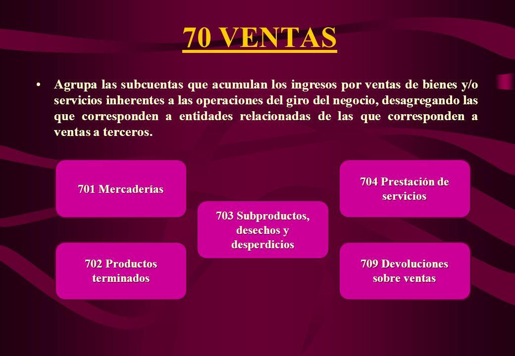 70 VENTAS