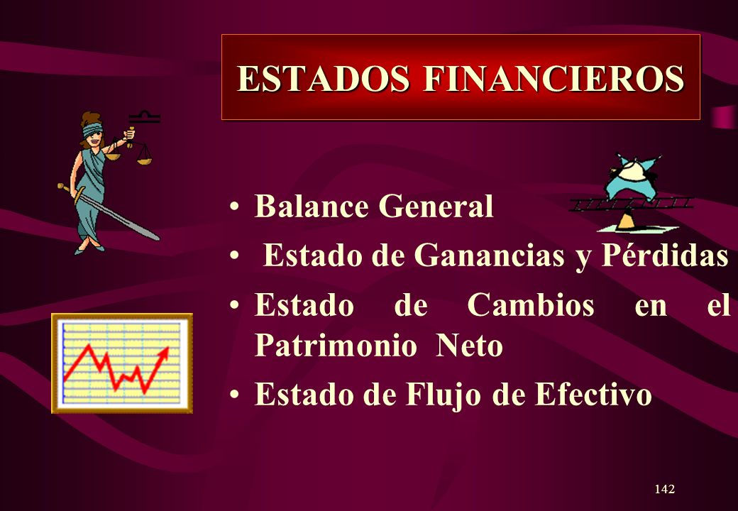 ESTADOS FINANCIEROS Balance General Estado de Ganancias y Pérdidas