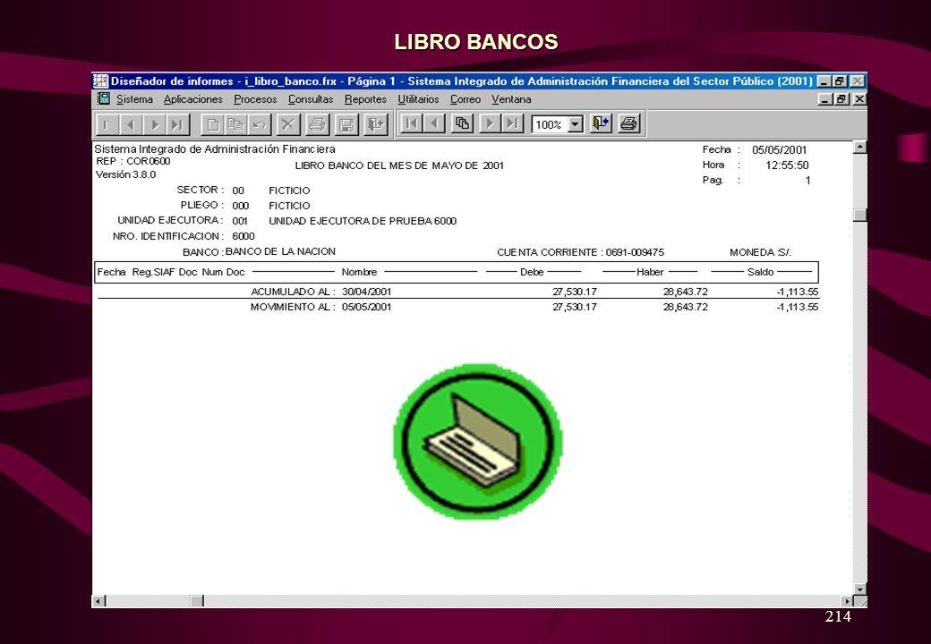 LIBRO BANCOS 214
